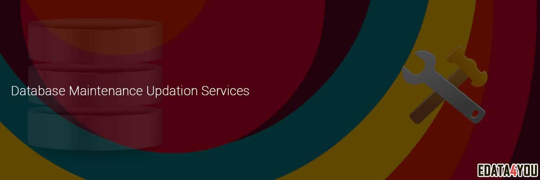 database maintenance updation services