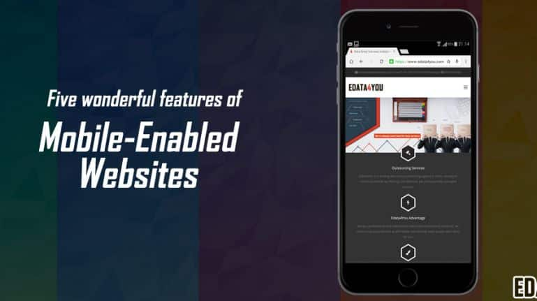 Five wonderful features of mobile-enabled websites