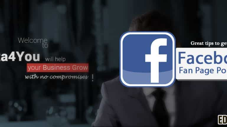Great tips to get your Facebook Fan page popular
