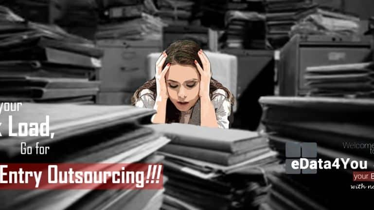 Reduce your workload, go for Data Entry Outsourcing!